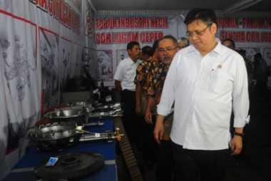 \Menperin Lapor Harga Gas Industri ke Presiden Jokowi\