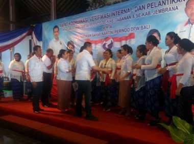 Hary Tanoe Lantik Ratusan Kader Partai Perindo se-Tabanan & Jembrana