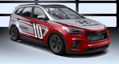 Hyundai Santa Fe Racikan Bisimoto Lebih Bertenaga dari Ferrari