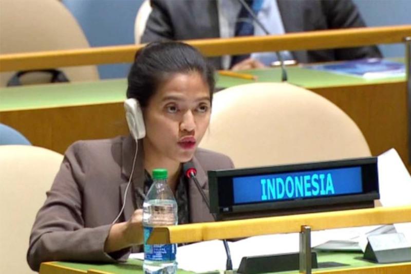 Pengamat Hukum Internasional Komentari Diplomat Cantik RI Nara Rakhmatia di PBB