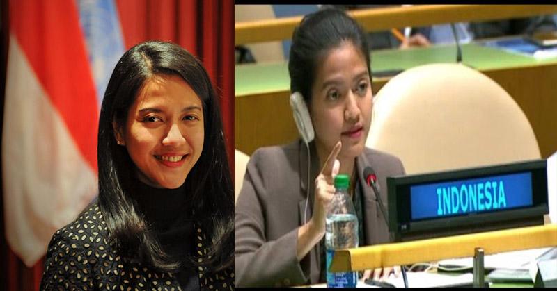 Aksi Nara Rakhmatia Diplomat Cantik RI di PBB Tuai Pujian Netizen