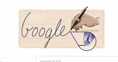 Penemu Bolpoin Pertama Jadi Doodle Hari Ini