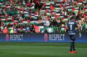 Kibarkan Bendera Palestina, Glasgow Celtic Didenda Rp145 Juta
