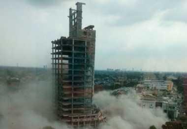 \TERPOPULER: Gedung Tua 19 Lantai di Bintaro Siap Dirobohkan\