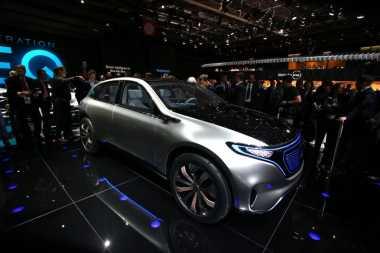Ini Wujud Mobil SUV Listrik Mercedes Benz