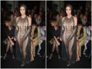 <i>Astaga,</i> Lagi-lagi Kim Kardashian Tampil Seksi di <i>Paris Fashion Week</i> 2017