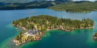 \Pulau Pribadi Lengkap dengan Rumah Mewah Dijual Rp503,6 Miliar\