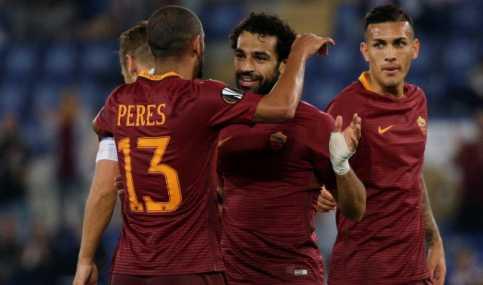 Roma Bantai Wakil Rumania Empat Gol Tanpa Balas di Olimpico