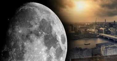 Fenomena 'Bulan Hitam' Malam Ini Pertanda Kiamat?
