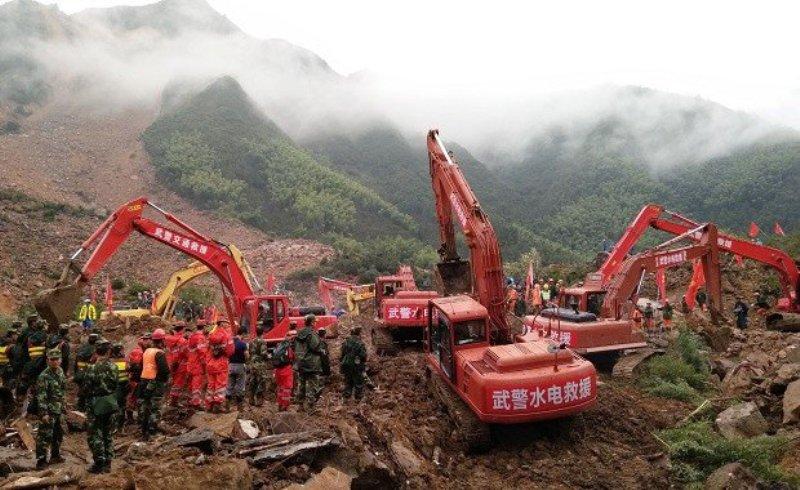 Longsor Akibat Topan Megi di China, 13 Orang Tewas & 20 Hilang