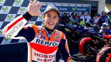 Sport Magazine: Rajai GP Aragon, Marquez Makin Dekat dengan Gelar Juara
