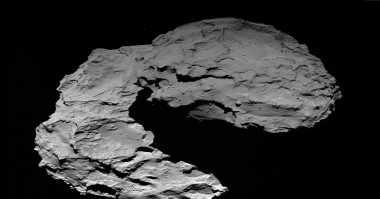Ini Foto Comet 67P yang Diabadikan Kamera Rosetta