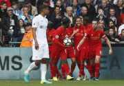Liverpool Jajah Swansea City di Babak Kedua Pertandingan
