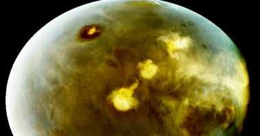 Maven Tangkap Gambar Awan yang Terbentuk di Mars