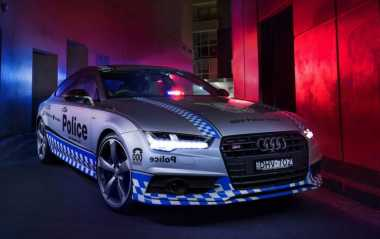 Sportcar Gahar Audi S7 Sportback Kini Bantu Polisi