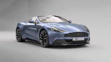 "Mobil Aston Martin ""Diracik"" Terinspirasi dari Kapal Pesiar"
