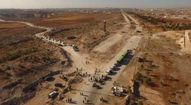 Al-Nusra Diklaim Sabotase Pengiriman Bantuan Kemanusiaan ke Mosul
