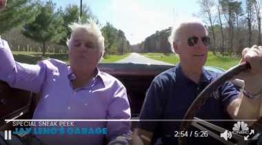 Ketika Wakil Presiden AS Joe Biden Nyetir Mobil Sport