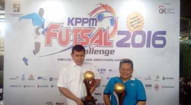 \BEI Ajak Pewarta Pasar Modal Ikut Turnamen Futsal\