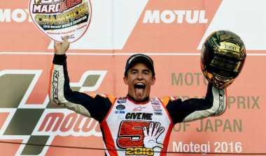 Sport of the Week: Marquez Resmi Juarai MotoGP 2016 di Kandang Honda