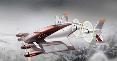 Keren, Ini Mobil Terbang Airbus yang Futuristik