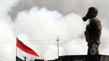 Bakar Pabrik Sulfur Dekat Mosul, Teroris Diduga Lancarkan Serangan Kimia