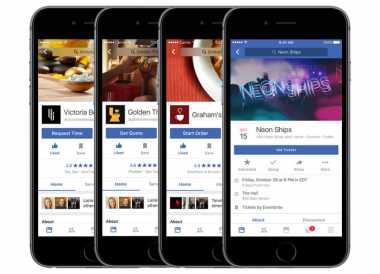Update Facebook iOS Bisa Booking Tiket Nonton Film
