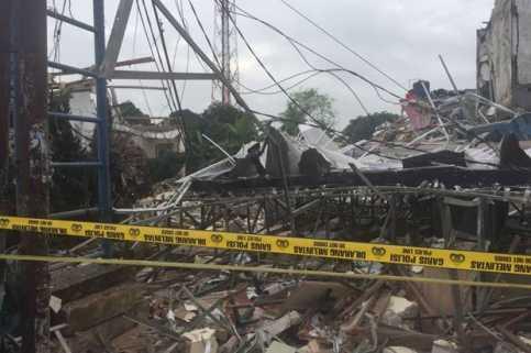 Bau Gas Masih Tercium di Lokasi Ledakan Bekasi