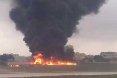 Pesawat yang Jatuh di Malta Jalankan Misi Pengintaian