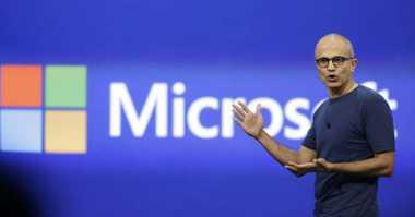 Satya Nadella Dianggap Berhasil Bangkitkan Microsoft