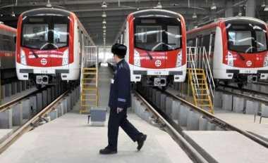 \Proyek Depo MRT Kurangi Lajur Jalan\