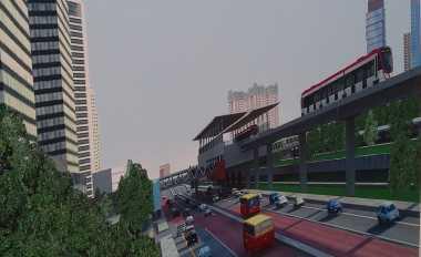 \Pengerjaan Proyek LRT Ditargetkan Capai 15% Tahun Ini   \