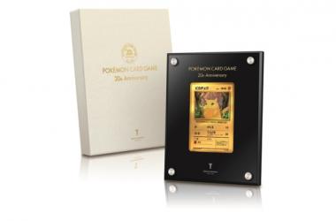 Ultah Ke-20, Kartu Pikachu Dibuat dari Emas 24 Karat