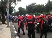 Unjuk Rasa Bergeser ke DPRD DKI, Buruh: Semoga Aspirasi Kami Bisa Didengar