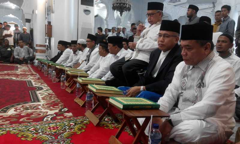Enam Pasangan Cagub & Cawagub Aceh Resmi Bertarung di Pilkada 2017