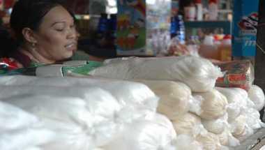 \Stok Gula Pasir di Bangka Belitung 637 Ton\
