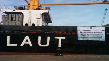 \Kapal Tol Laut Logistik Natuna Berlayan Sebulan 2 Kali\