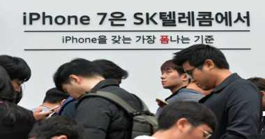 Galaxy Note 7 Tumbang, iPhone 7 Melejit di Korea Selatan