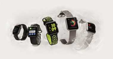 Apple Watch Nike+ Saingi Xiaomi Mi Band