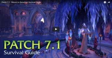 Patch 7.1 untuk Game World Of Warcraft Telah Tersedia