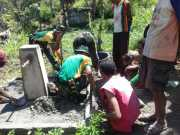 TNI Bangun Sarana Air Bersih Sepanjang 1,8 Km di Perbatasan RI-Timor Leste