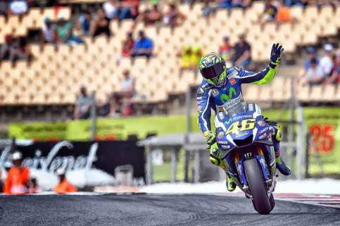 Catalunya, Sirkuit yang Paling Sering Ditaklukkan Valentino Rossi