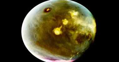 Tampilan Mars saat Dipotret Filter Ultraviolet Mars