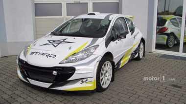 Peugeot 207 Dirombak Jadi Mobil Reli Bertenaga Listrik