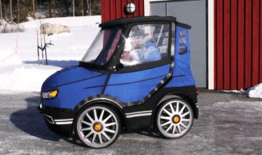 Mobil Mungil Ini Dibuat dari Sepeda Listrik