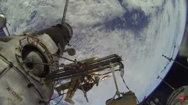 Beredar Video Hoax di Facebook, Astronot Jalan-Jalan di ISS