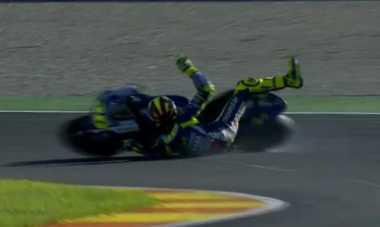 Terjatuh di Assen dan Motegi Jadi Kesalahan Fatal Valentino Rossi pada MotoGP 2016