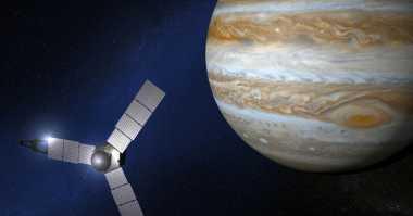 Sempat Alami Masalah, Pesawat Antariksa Juno Kian Dekati Jupiter