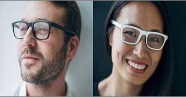 Unik, Kacamata Pintar Ini Bisa Mendengar Audio
