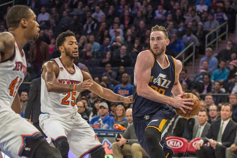 Gordon Hayward Cetak 28 Angka, Utah Jazz Kalahkan New York Knicks